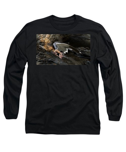 Angel- Give Your Worries To The Father Long Sleeve T-Shirt