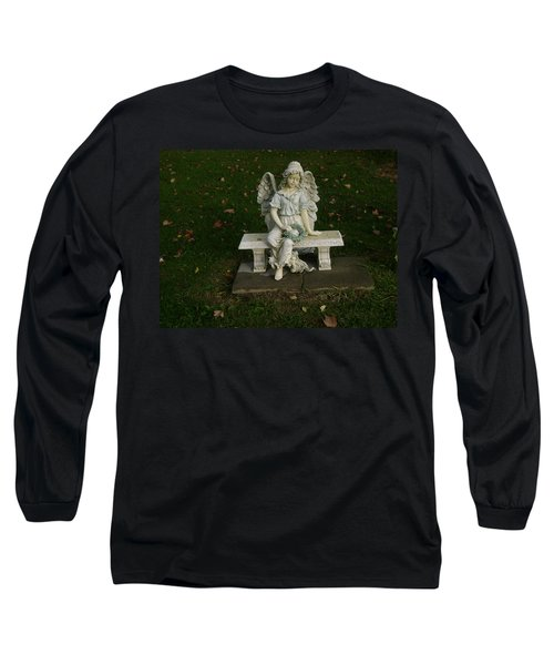 The Angel Is Watching Over Long Sleeve T-Shirt
