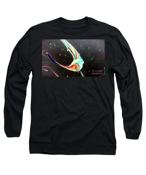 Long Sleeve T-Shirt featuring the painting Angel by Jacqueline McReynolds