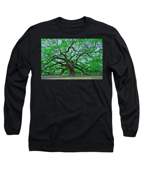 Angel Oak Long Sleeve T-Shirt