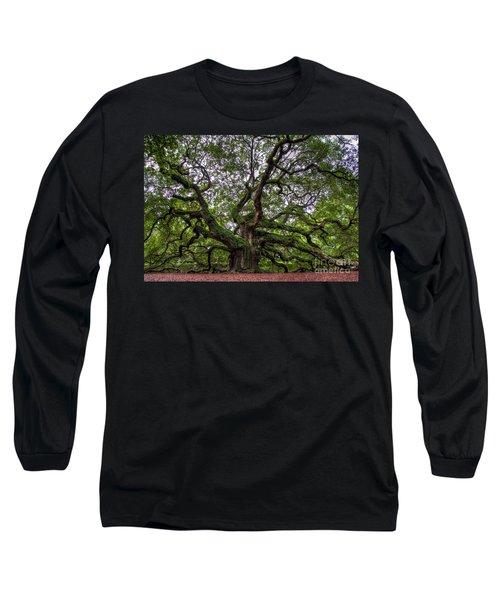 Angel Oak Tree Long Sleeve T-Shirt