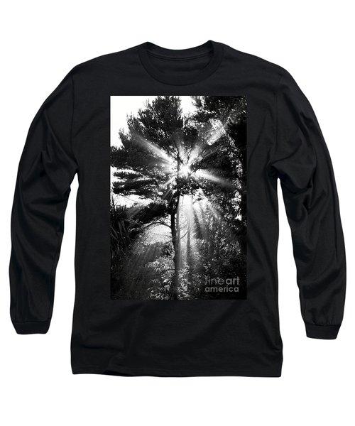 Angel Sun Long Sleeve T-Shirt by Loni Collins