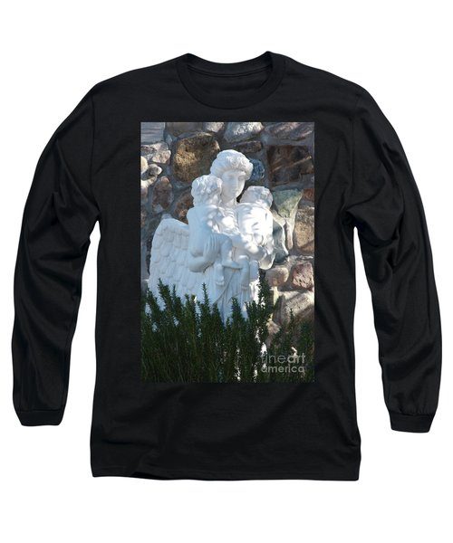 Angelic Motherhood Long Sleeve T-Shirt