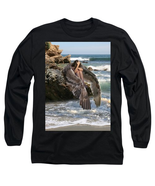 Angels- God Has Sent His Spirit To Comfort You And Heal You Long Sleeve T-Shirt