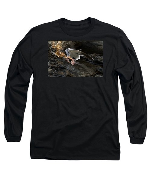 Angels- He Will Bring Peace To Your Heart Long Sleeve T-Shirt