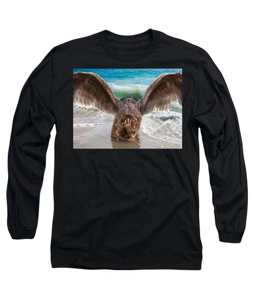 Angels- I Will Not Give Up On You Long Sleeve T-Shirt