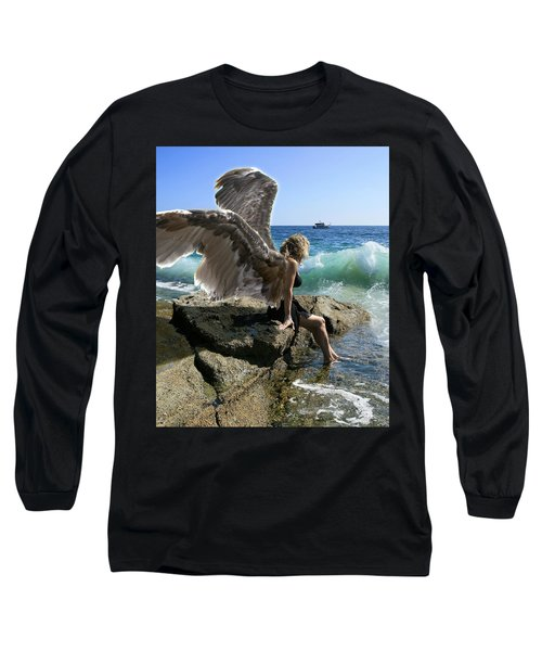 Angels- I'm Watching Over You Long Sleeve T-Shirt