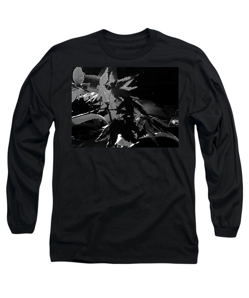 Long Sleeve T-Shirt featuring the photograph Angels Or Dragons B/w by Martin Howard