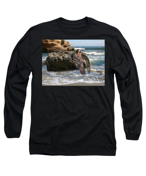 Angels- Shhh Stand Still And Be Quiet Long Sleeve T-Shirt