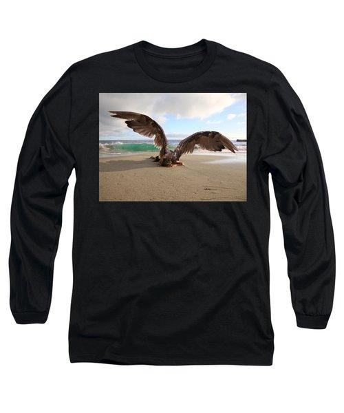 Angels- We Shall Not All Sleep Long Sleeve T-Shirt