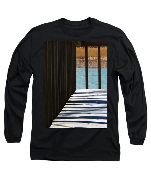 Long Sleeve T-Shirt featuring the photograph Angles And Shadows by Shawna Rowe