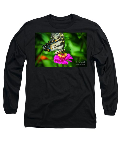 Anise  Swallowtail Butterfly Long Sleeve T-Shirt