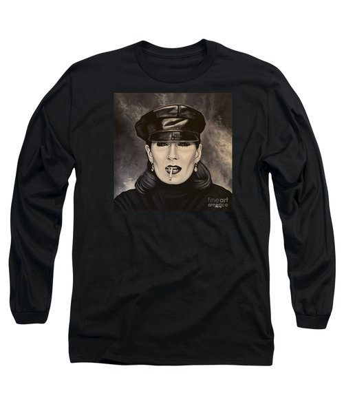 Anjelica Huston Long Sleeve T-Shirt