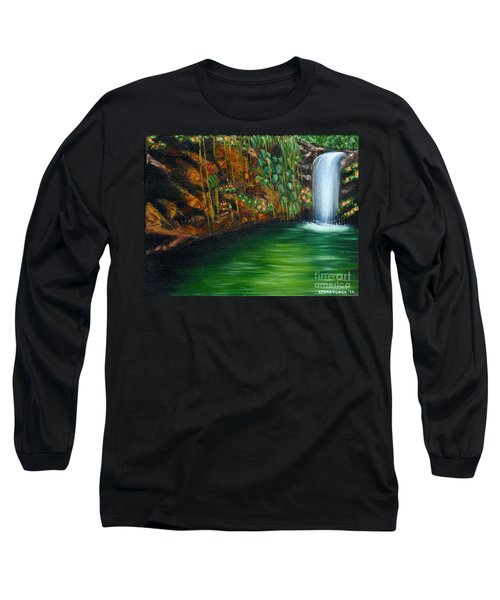 Annadale Waterfall Long Sleeve T-Shirt by Laura Forde
