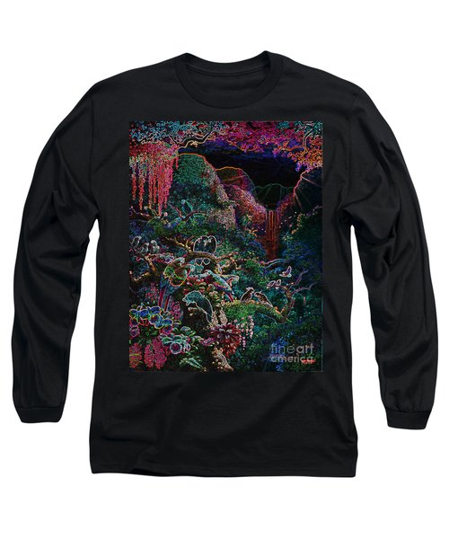 Another Day In Paradise - Digital 1 Long Sleeve T-Shirt