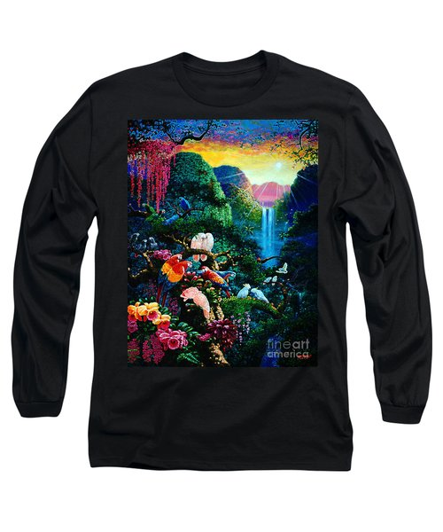 Another Day In Paradise - Digital 2 Long Sleeve T-Shirt