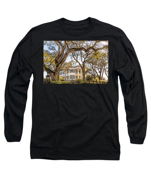 Antebellum Mansion Long Sleeve T-Shirt