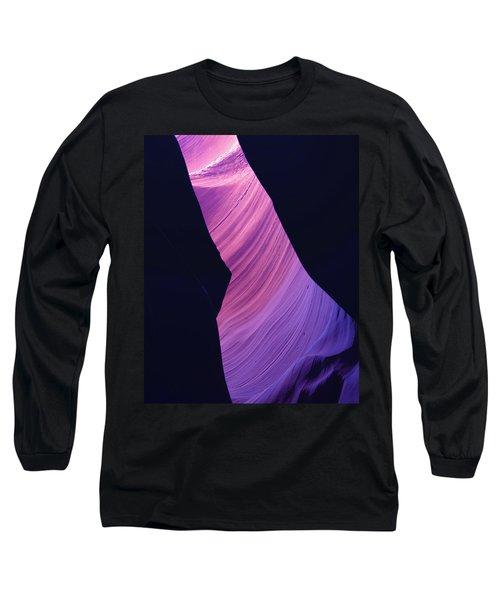 Antelope Canyon 10 Long Sleeve T-Shirt by Jeff Brunton
