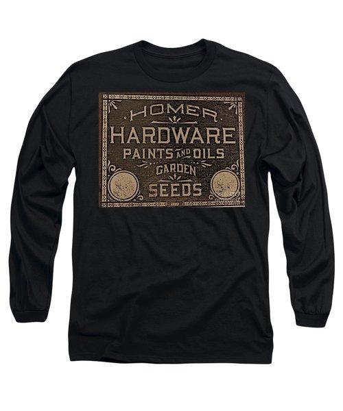Antique Homer Hardware Long Sleeve T-Shirt