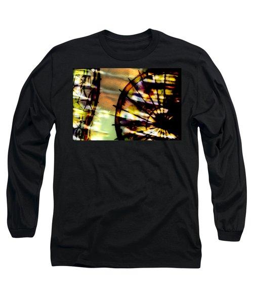 Color Wheel Long Sleeve T-Shirt