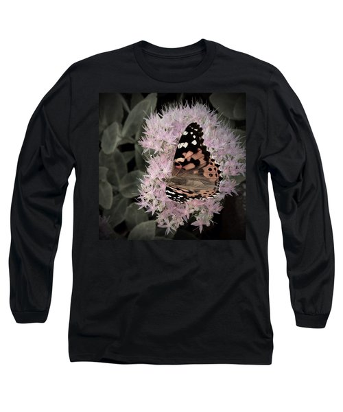 Antique Monarch Long Sleeve T-Shirt by Photographic Arts And Design Studio