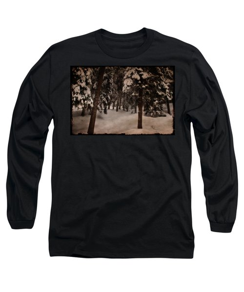 Antique Woodscape Long Sleeve T-Shirt
