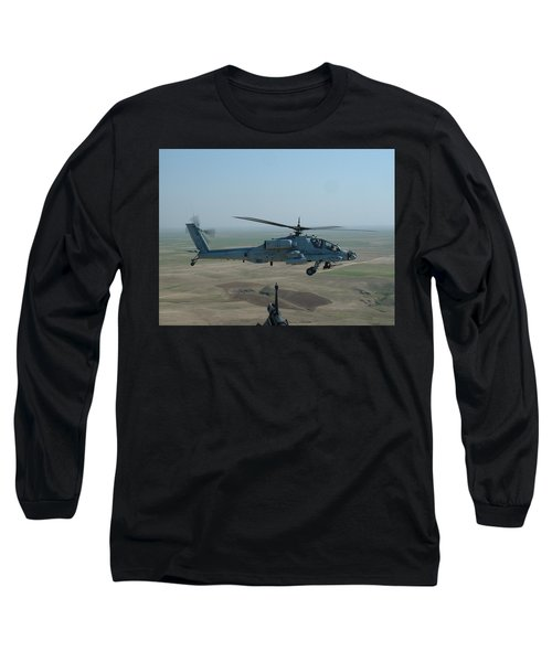 Apache Gray Long Sleeve T-Shirt