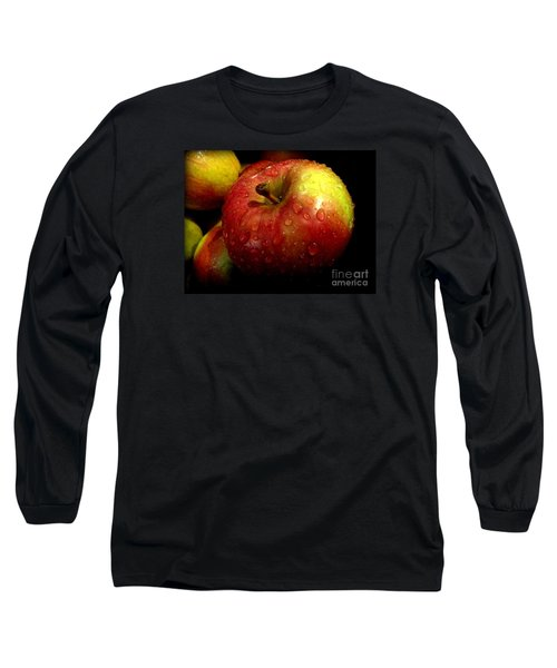 Apple In The Rain Long Sleeve T-Shirt