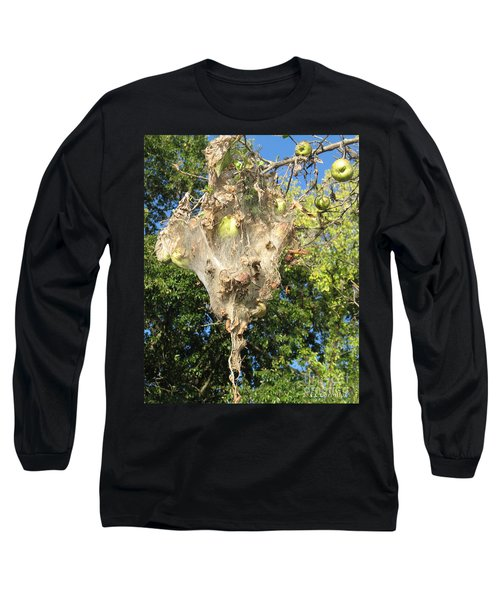 Apple Trap Long Sleeve T-Shirt by Carol Lynn Coronios