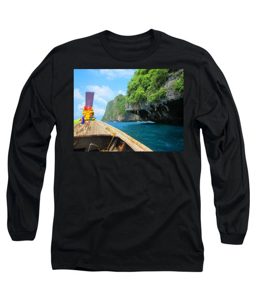 Approach To Ko Phi Phi Lee Long Sleeve T-Shirt