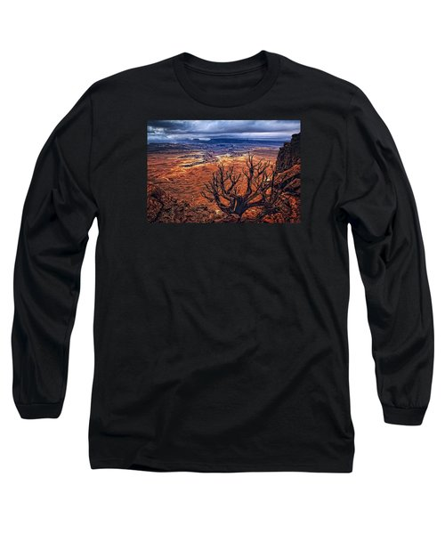 Long Sleeve T-Shirt featuring the photograph Approaching Storm by Priscilla Burgers