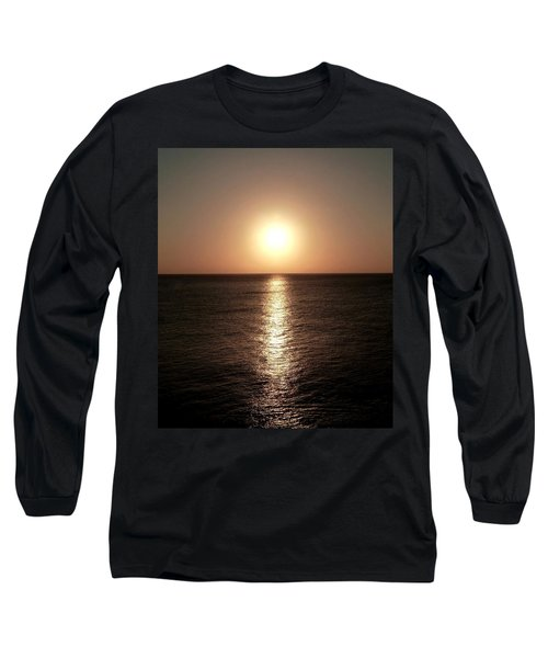 Long Sleeve T-Shirt featuring the photograph April Sunset by Amar Sheow