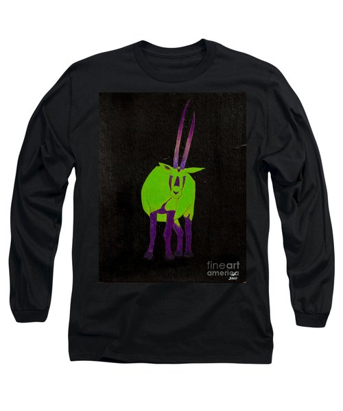 Arabian Oryx Long Sleeve T-Shirt