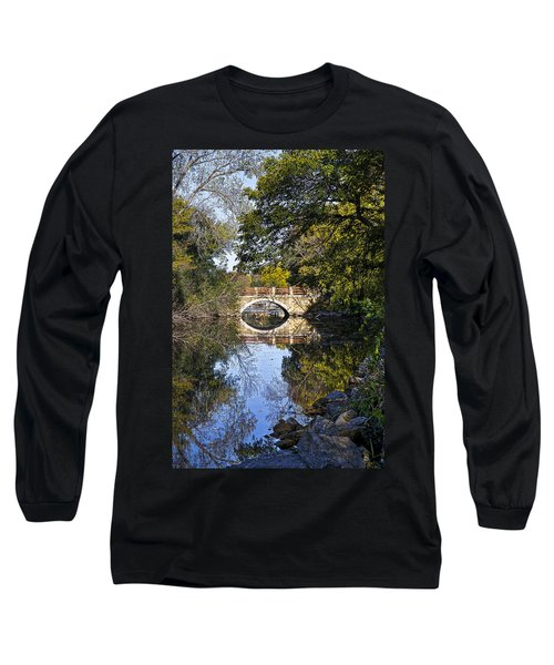 Arboretum Drive Bridge - Madison - Wisconsin Long Sleeve T-Shirt