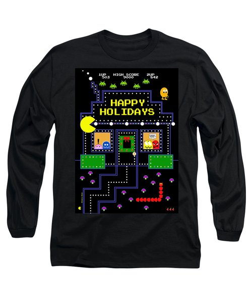 Arcade Holiday Long Sleeve T-Shirt