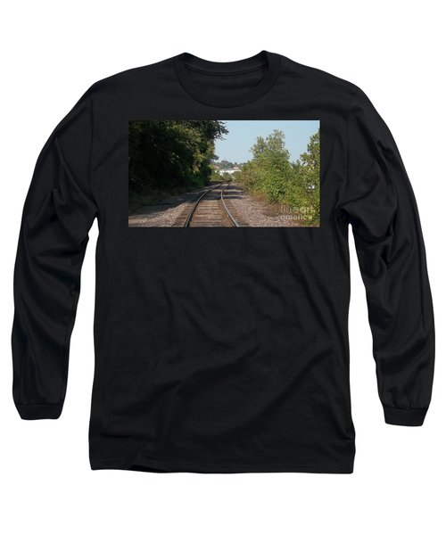 Long Sleeve T-Shirt featuring the photograph Arch In The Distance by Kelly Awad