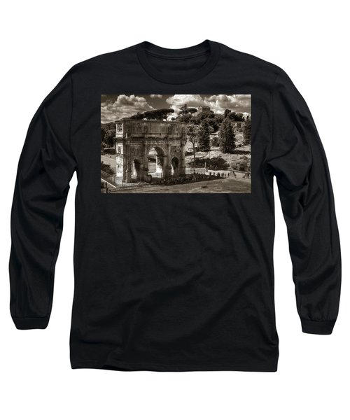 Arch Of Contantine Long Sleeve T-Shirt
