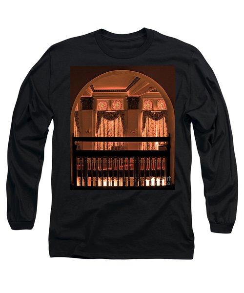 Arch Of Light In Near Night Long Sleeve T-Shirt