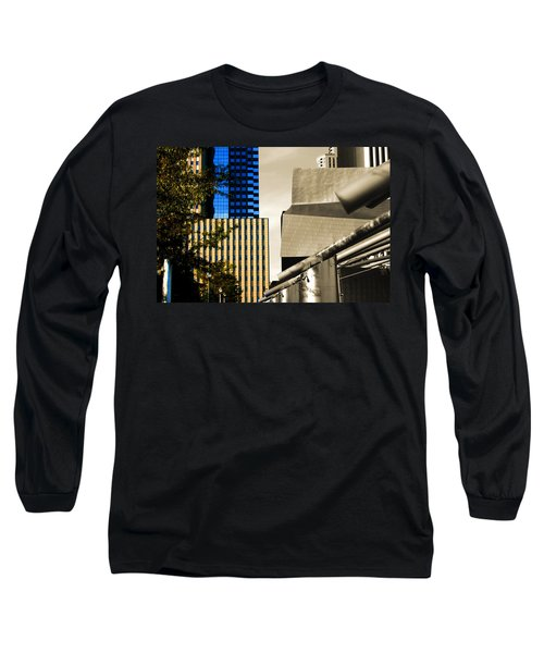 Architectural Crumpled Steel Gehry Long Sleeve T-Shirt
