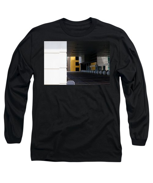 Architectural Pattern Spheres Long Sleeve T-Shirt