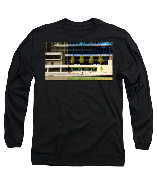Architectural Pattern Trees Long Sleeve T-Shirt