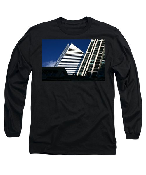 Architectural Pyramid Long Sleeve T-Shirt