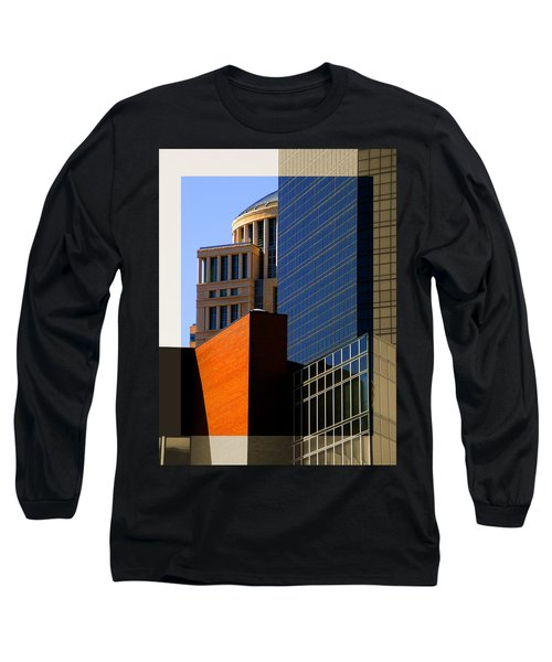 Architectural Stone Steel Glass Long Sleeve T-Shirt