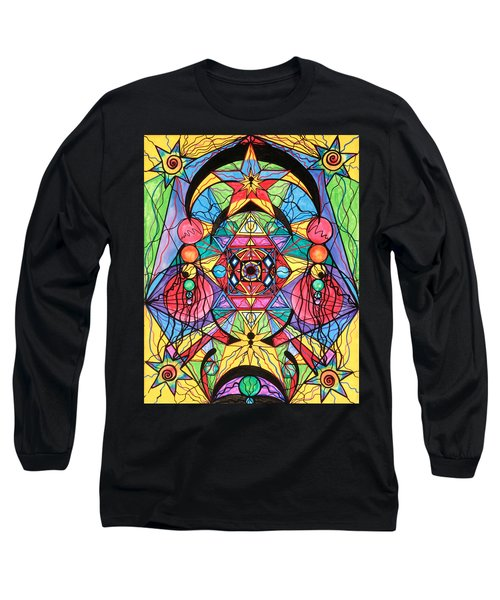 Arcturian Ascension Grid Long Sleeve T-Shirt