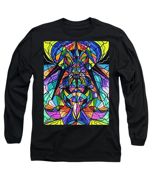 Arcturian Awakening Grid Long Sleeve T-Shirt