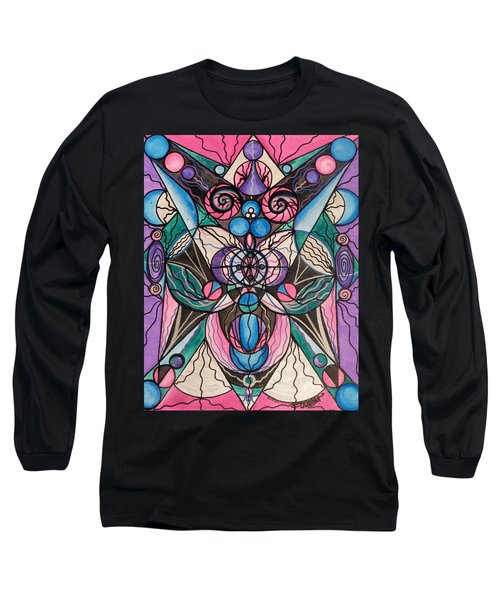 Arcturian Healing Lattice  Long Sleeve T-Shirt