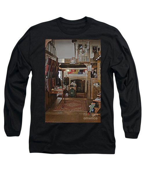 Long Sleeve T-Shirt featuring the photograph Are You Being Served ? by Terri Waters