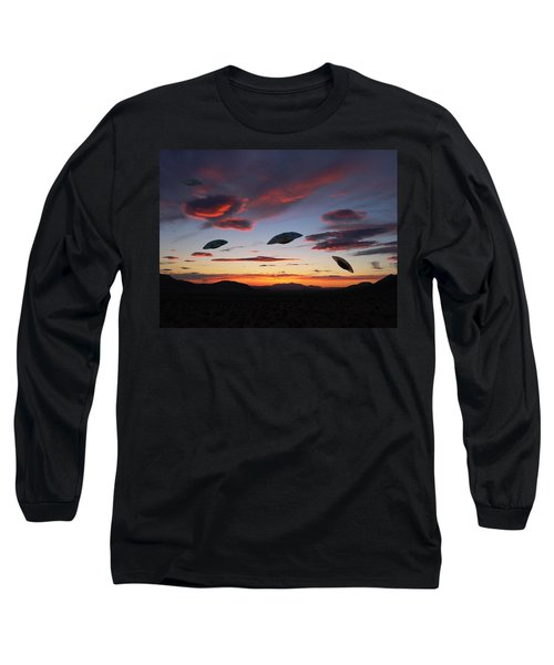 Area 51 Fly Zone Long Sleeve T-Shirt