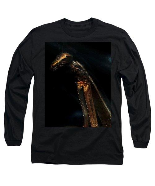 Armored Praying Mantis Long Sleeve T-Shirt