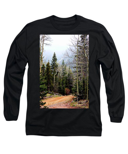Long Sleeve T-Shirt featuring the photograph Around The Bend by Barbara Chichester